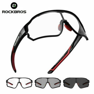 ROCKBROS Full Frame Photochromatic Cycling Glasses Sport Sunglasses Bike Goggles