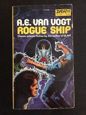 A.E. VAN VOGT ROGUE SHIP GREG THEAKSTON FIRST EDITION PAPERBACK DAW BOOKS PULP