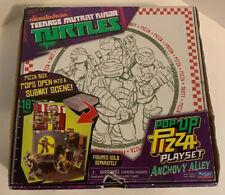 TMNT Pop Up Pizza Set Ninja Turtles Antonio's Pizza Rama Anchovy Alley 2012 S2