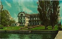 Vintage Postcard - Hotel Carleton And Waterfront Cape Vincent New York NY #4186
