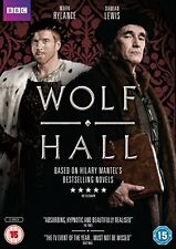 Wolf Hall  with Damian Lewis New (DVD  2015)