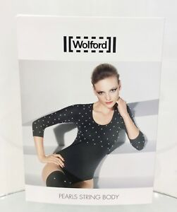 Wolford Limited Edition Pearls String Body Brand New in Box Medium