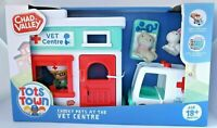 Chad Valley Tots Town Vet Centre Playset with Vet Figure & 2 Pets