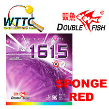 Double Fish 1615 Long Pimple Rubber With Sponge RED