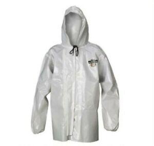 Lakeland ChemMax C72260 Chemical Resistant Jacket/Coat w/ Hood Size Large (6pk)