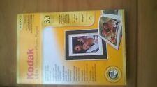 VINTAGE KODAK CAMERA ULTRA PREMIUM PHOTO PAPER 60 SHEET PACK 10 X 15 CMS