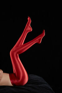 Women Sexy Shiny Glossy Spandex Stockings Opaque Pantyhose Sports Fitness Tights