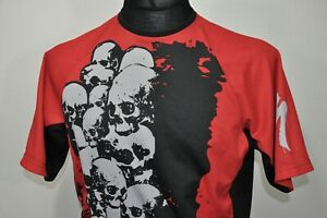 Specialized  Skull Short Sleeve Jersey Mens size M