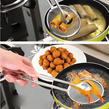 Multi-function Filter Spoon With Clip Oil-Frying Salad BBQ Filter Kitchen ToolSC