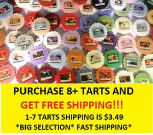 ☆☆YANKEE CANDLE WAX MELT TART SINGLES☆☆MUST BUY 8 OR MORE FOR FREE SHIPPING☆☆NEW