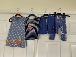 HATLEY KITE LITTLE BIRD FRUGI - Girls Bundle Dress Trousers Top 12-18 Months