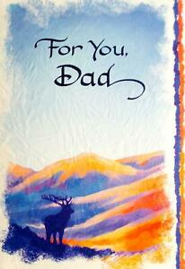 Blue Mountain Arts Sentimental Card: Dad - For You Dad
