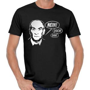 Louis de Funès Movie Kult Ikone Konterfei Stencil Memory Fan Geschenk T-Shirt