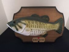 Big Mouth Billy Bass Singing Animated Mounted Fish 1999 Gemmy Tested Working