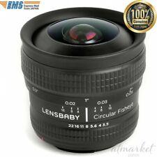 Lensbaby Fisheye lens LBCFEN Circular 5.8mm F3.5 Nikon F mount APS-C 859742 F/S