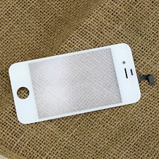 White Front Outer Glass Touch Screen Digitizer Replacement For iPhone 4S 4 cdma
