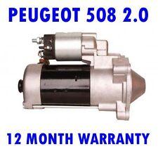 PEUGEOT 508 2.0 HDI 2010 2011 2012 2013 2014 2015 STARTER MOTOR