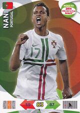 Adrenalyn XL Road To 2014 FIFA World Cup Card - NANI - Portugal - Panini