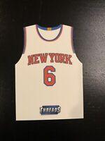 2016-17 Threads Kristaps Porzingis Jersey Die-Cut #8 New York Knicks / Mavrricks