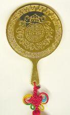 Feng Shui Brass Mirror