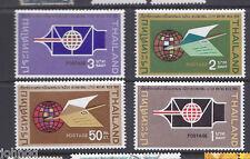 Thailand Stamps  #518-521, International Letter Writing Week MLH SCV $13.95