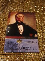 President John Tyler History USA Upper Deck Card US #T10