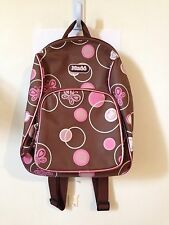 Gently Used Brown And Pink Mini Mudd Backpack