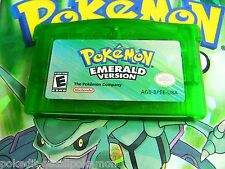 Unlocked AUTHENTIC Emerald All 386 Legit Pokemon Nintendo DS GBA New Battery