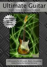 Ultimate Guitar Chords, Scales & Arpeggios Handbook: 240-Lesson, Step-By-Step...