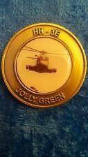 HH -3E Jolly green challenge coin