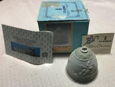 1988 Lladro Christmas Ornament Bell - 5.525 Mate Campanita Navidad 1.988