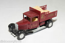 SS-701-6 OLDTIMER TRUCK MAROON SUNNY SIDE EXCELLENT CONDITION