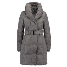 Wallis Cosy Winter Coat Dark Grey Size Uk M rrp £85 LS081 ii 01
