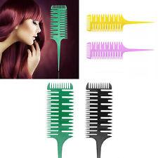 Salon Professional Fish Bone Shape Comb Hair Dyeing Sectioning Highlighting