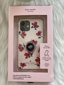 New Kate Spade Ring And Toss Floral Resin iPhone 12/ 12 Pro case Multi Gift