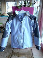 Vêtements bleus avec capuche en polyester pour fille de 2 à 16 ans ... f47862589af