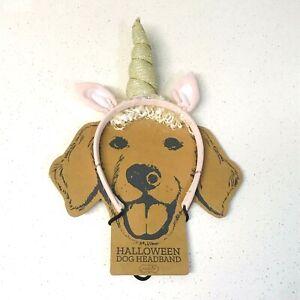 Mud Pie UNICORN Dog Headband Halloween Costume