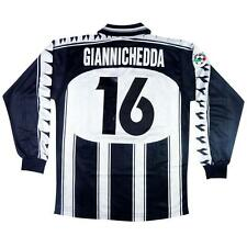 1999-00 Udinese Maglia Home Match Worn Vs Inter  #16 Giannichedda XL  (Top)  SHI