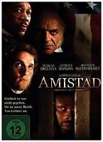 DVD ° Amistad ° Morgan Freeman & Anthony Hopkins ° NEU & OVP