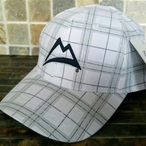 Coors Light Superb White Cap, Hat, Plaid. One Size. (Last One available)