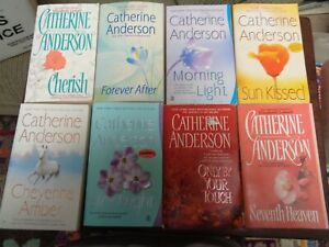 Lot of 8 Catherine Anderson Romance Paperback Novels