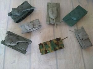 Army Tanks Camo Metal/plastic  Lot 7