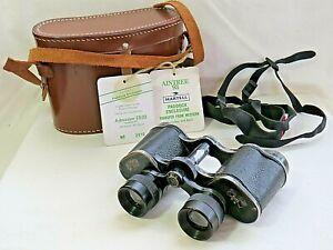 Krombach Wetzlar (Zeiss) Porrolux Binoculars. 6 x 30 W.W. Hard Case Aintree Pass