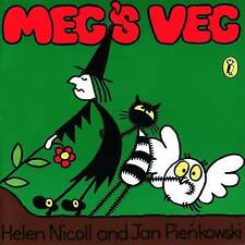 ** Nuevo Pb ** Meg's Veg por Jan pienkowski, Helen Nicoll