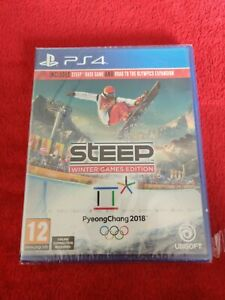 STEEP WINTER GAMES EDITION / NEW UNUSED / WITH EXPANSIONS RARE (READ DESCRIPTION