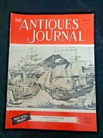 Antiques Journal 1952 Sam Rouse Wrought Iron Lace Work Dutch Tiles Wax Miniature