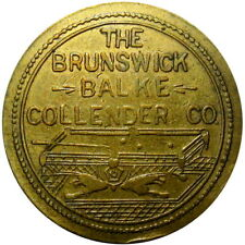 1886 Fort Brown Brownsville Texas Military Good For Token BBC Pool Table