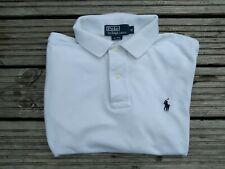 Ralph Lauren Vintage Polo Shirt Large  Very Good Condition White