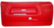 Red Car and Truck Exterior Door Panels and Frames