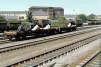 PHOTO  CLASS 08 SHUNTER NO 08786 - 08389 - 08667 AT LEEDS TO WOODLESFORD 1988